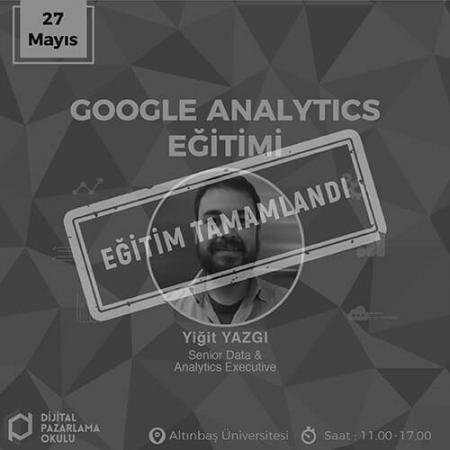 Google Analytics Eğitimi [İstanbul]