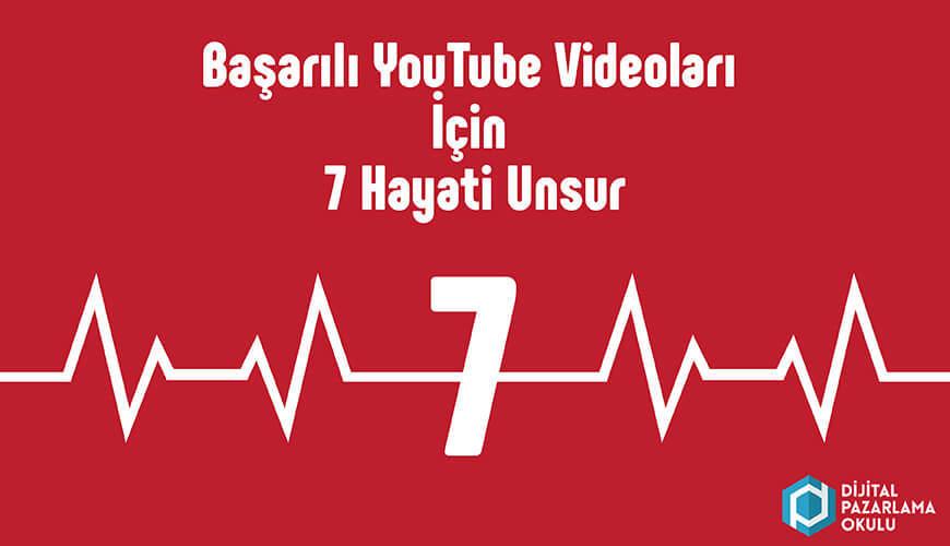 başarılı youtube videoları