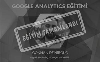 Temel Google Analytics Eğitimi [İzmir]