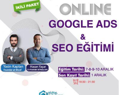 [Online] Google Ads & SEO Eğitimi