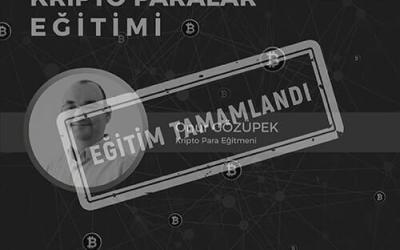 Blockchain ve Dijital Paralar Eğitimi [İzmir]