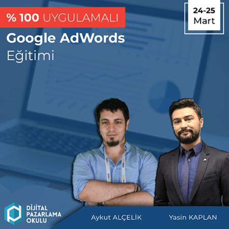 %100 Uygulamalı Google Adwords Eğitimi