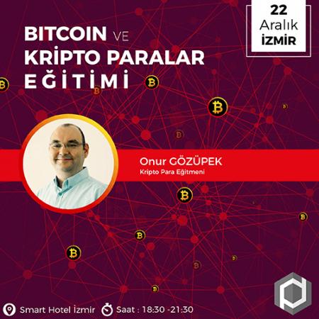 Bitcoin ve Kripto Paralar Eğitimi [İzmir]