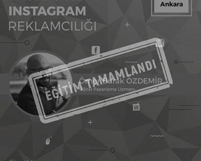 Facebook-Instagram Reklamcılığı Eğitimi [Ankara]