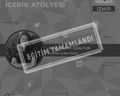 Sosyal Medya İçerik Atölyesi [İzmir]