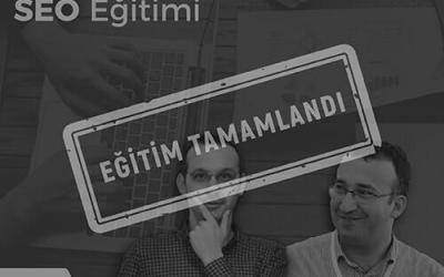 Uygulamalı SEO Eğitimi [İstanbul]
