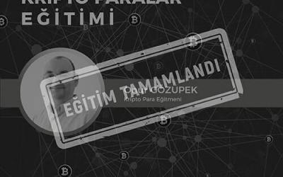 Bitcoin ve Kripto Paralar Eğitimi [Ankara]