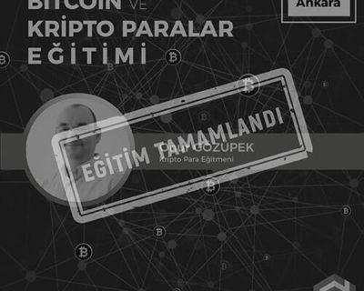 Blockchain ve Dijital Paralar Eğitimi [Ankara]