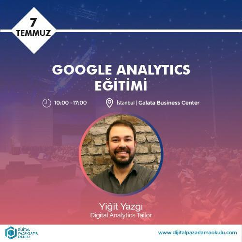 Google Analytics Eğitimi