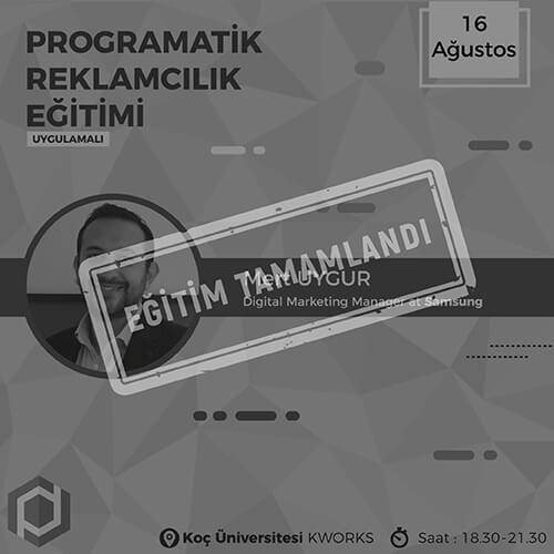 programatik egitim
