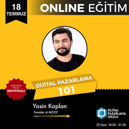 Dijital Pazarlama 101 [Online Eğitim]