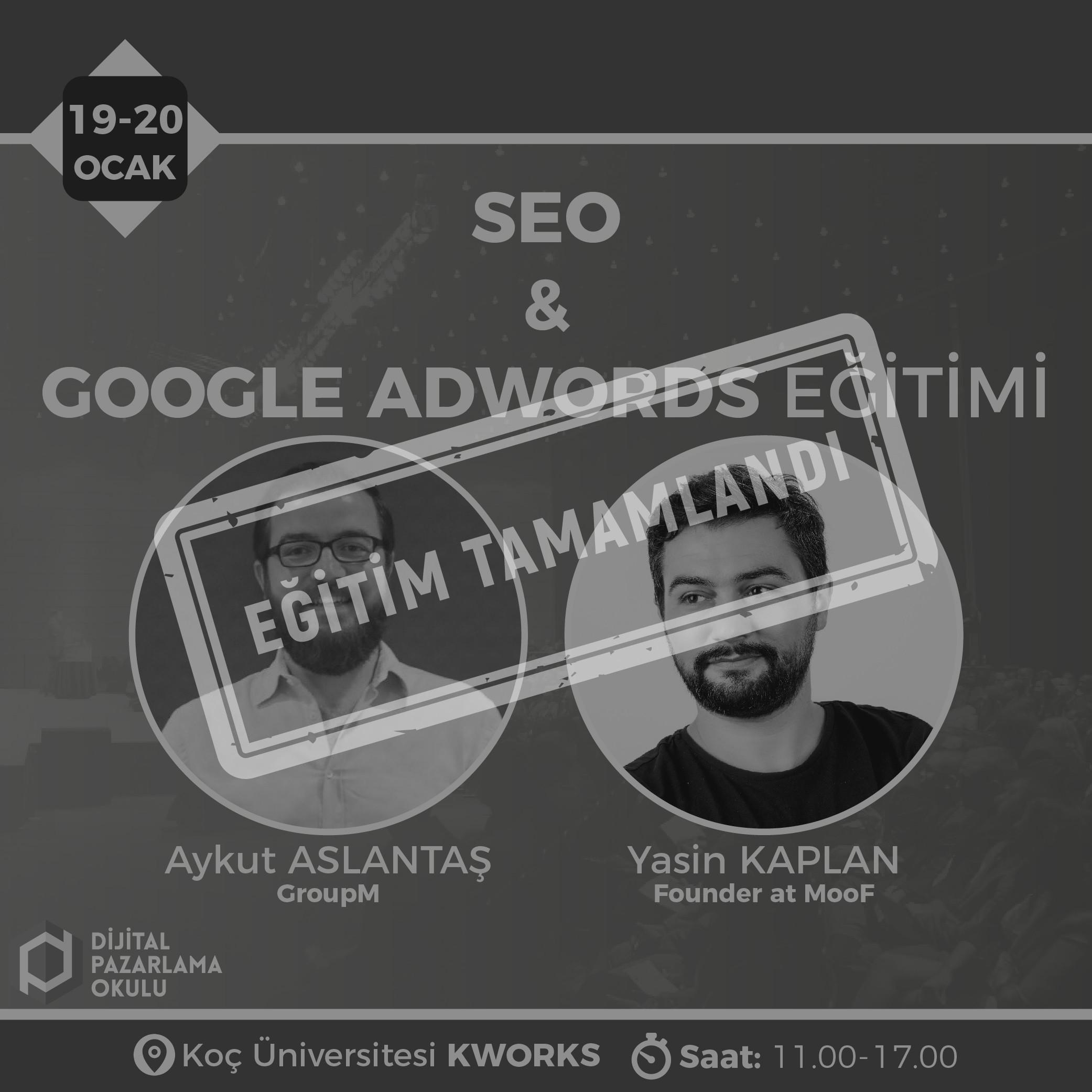 seo ve google ads egitimi