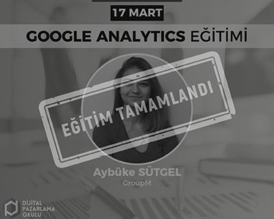 Google Analytics Eğitimi [Ankara]