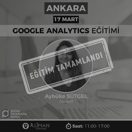 Google Analytics Eğitimi [Ankara]