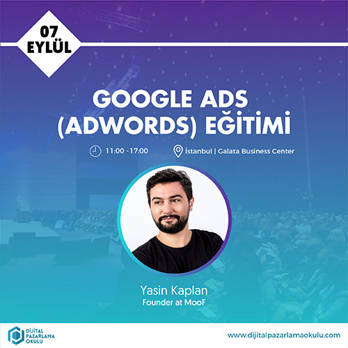 7 eylül google adwords eğitimi