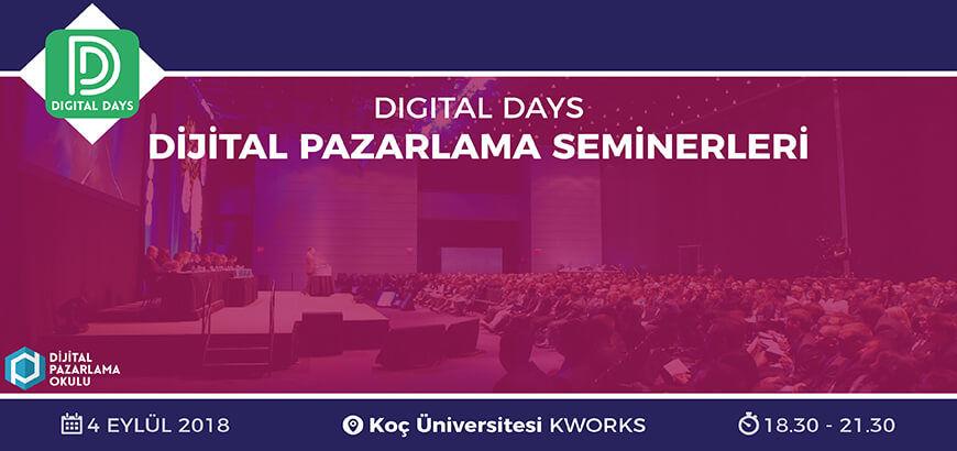 dijital pazarlama etkinlik