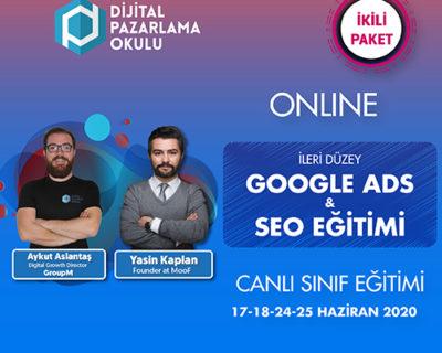 İleri Düzey Google Ads & SEO Eğitimi (ONLINE)