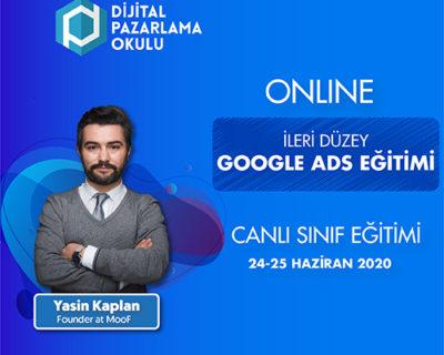 [ONLINE]İleri Düzey Google Ads Eğitimi