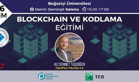 Boğaziçi Üniversitesi – Blockchain ve Kodlama Eğitimi