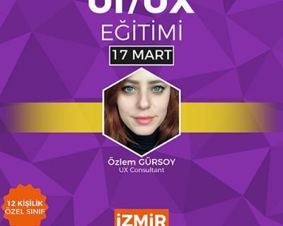 Kullanıcı Deneyimi Tasarımı (UI / UX) Eğitimi [İzmir]