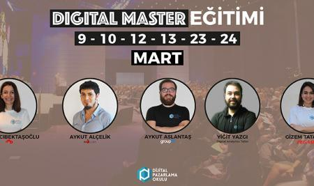 Dijital Pazarlama Master Programı Başlıyor