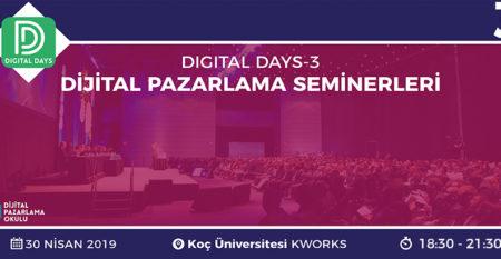 digital days 3 etkinlik