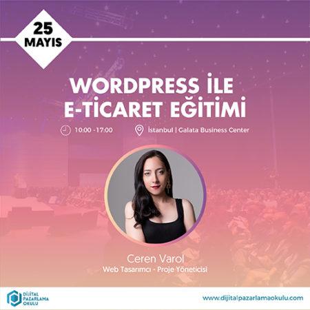 WordPress ve E-Ticaret Eğitimi