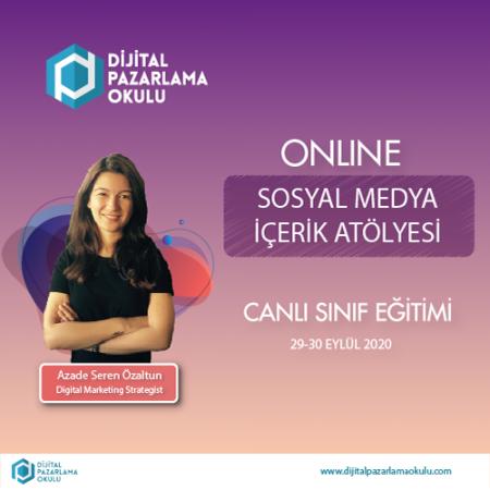 [Online] Sosyal Medya İçerik Atölyesi