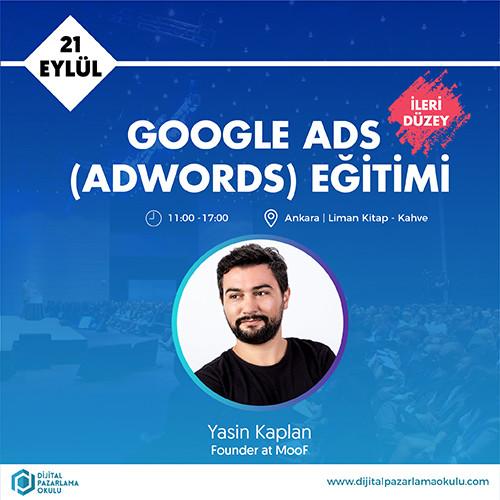 ileri düzey google adwords eğitimi