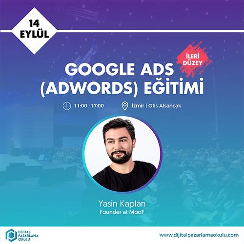 ileri düzey google adwords eğitimi izmir