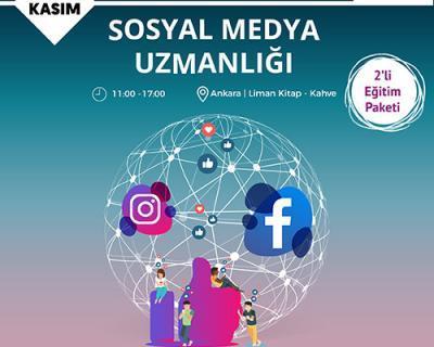 Sosyal Medya Uzmanlığı Eğitimi [Ankara]