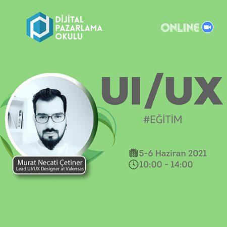 [Online] UI/UX (Kullanıcı Deneyimi Tasarımı) Eğitimi