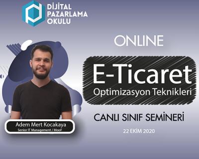 E-Ticaret Siteleri İçin Optimizasyon Teknikleri [ONLINE]
