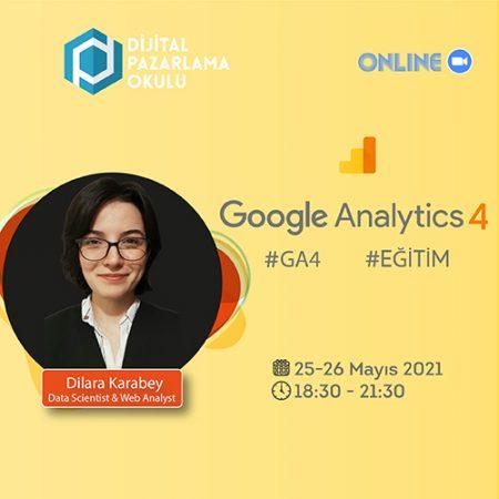 [Online] Google Analytics 4 Eğitimi
