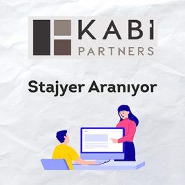 Kabi Partners Stajyer Arıyor!