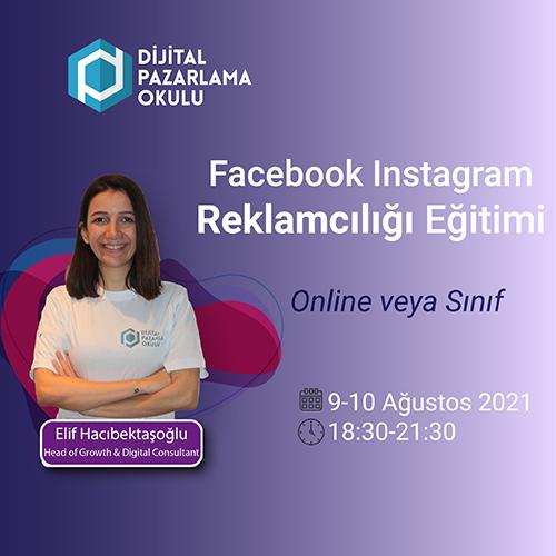 facebook instagram reklamcılığı eğitimi ağustos 2021