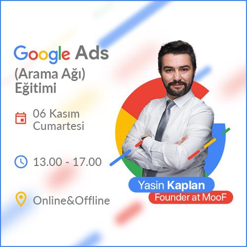 Google Ads (Arama Ağı) Eğitimi [Online+Sınıf]